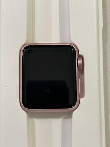 Apple Watch 1st Generation Sport 38mm Aluminum Case Rose Gold (A1553)