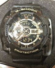 Men's Casio G-Shock GA-110GB-1A Black/Gold Watch 8
