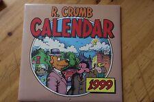 RARE Calendar 1999 Robert Crumb / The Ink Group