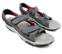 Merrell Rapid Pulse Men's US Size 13 Charcoal Red Water Sandals Hiking Vibram