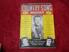 1954 COUNTRY SONG ROUNDUP Nov - Vol 1 - No. 35 Hank Snow, Joe Taylor, Tommy Sand