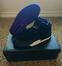 BRAND NEW Nike $175 Jordan Spizike Purple Black Basketball Shoes Men's Size 9