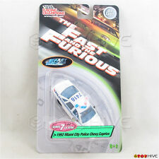 Fast and Furious 1:64 1992 Miami City Police Chevy Caprice - Racing Champions s7
