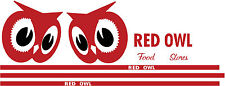 TONKA 1959 RED OWL DECAL SET