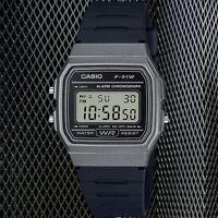 Casio F91WM-1B Classic Black Sports Retro Style Watch F-91 New