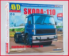 1:43 Bausatz Skoda Liaz 110 KIT 1454AVD Czech tractor truck LKW UdSSR USSR