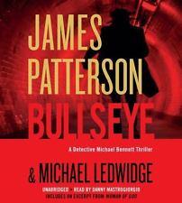 New Audio Book BULLSEYE James Patterson A Michael Bennett Thriller CDs
