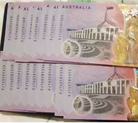 "💰2016 AUST.$5 NEXT GENERATION ""AA16 & EJ16""👉FIRST & LAST PREFIX👈 UNCIRCULATED"