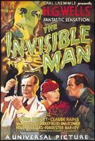 68661 The Invisible Man Movie Claude Rains, Gloria Stu Wall Print POSTER Plakat