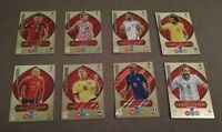 Panini World Cup Russia 2018 Adrenalyn XL Limited Edition Premium - 8 Cards