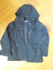 manteau 3 en 1 avec capuche amovible BONPOINT  marine 12 ans garçon