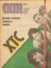 MAGAZINE OOR 1980 nr. 19 - D.A.F./ IRON MAIDEN / MICHAEL SCHENKER / XTC