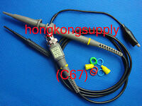 One 200MHz Oscilloscope Scope analyzer Clip Probe test lead kit for HP Tektronix