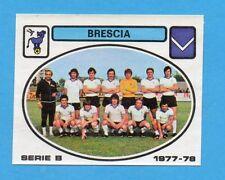 PANINI CALCIATORI 1977/78 - Figurina n.381- SQUADRA - BRESCIA -Rec