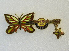 CARDIFF,Hard Rock Cafe Pin,Butterfly with Dangle Series
