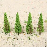50pcs Plastic 6.5cm Model Trees Train Scenery Landscape Railway Wargame Layout