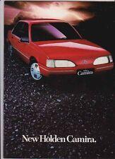 1985 HOLDEN JD CAMIRA Range 30 Page Prestige & 8 Page Brochure GM World J-CAR