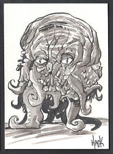 WAR OF THE WORLDS EARTH UNDER THE MARTIANS SKETCH CARD #WS2 ROBERT HACK v2