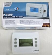 NEW! PECO Thermostat, 7 Day Programmable, Stages 3 Heat/2 Cool PECO T4932SCH-001