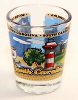 SOUTH CAROLINA STATE WRAPAROUND SHOT GLASS SHOTGLASS