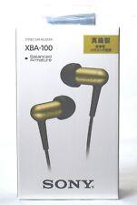 SONY-XBA-100 In-Ear Canal Headphones / FREE-SHIPPING