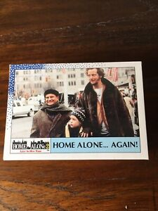 Topps home Alone2 1992 trading card & Stickers Set Excellent
