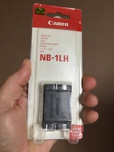Genuine CANON NB-1H / 1L Battery - Brand New & Sealed - For PowerShot & IXUS