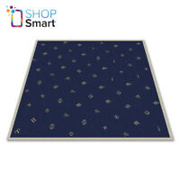 TAROT CLOTH ASTROLOGY VELVET EMBROIDED BLUE YELLOW LO SCARABEO 80X80 CM NEW