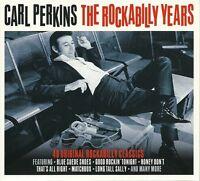 CARL PERKINS THE ROCKABILLY YEARS - 2 CD BOX SET 40 ORIGINAL ROCKABILLY CLASSICS