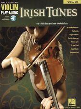 Irish Tunes Violin Play-Along Violine Geige Noten mit Download Code
