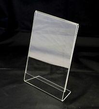 Porta locandina / foto IN PLEXIGLASS formato A3 VERTICALE - confezione 2 pezzi