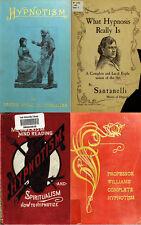120 RARE BOOKS ON HYPNOTISM, HYPNOSIS, MIND CONTROL, LEARN TO HYPNOTISE ON DVD