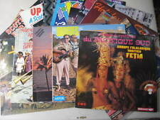 14 RECORDS- COLLECTION OF AROUND THE WORLD MUSIC-DIFF COUNTRIES -VGC.