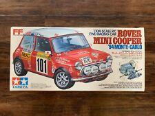 Vintage, Rare and Collectible Tamiya M-01 58163 Rover Mini Cooper Monte Carlo 94