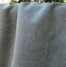 Gray Polyester Cotton Light Weight Chambray Woven Fabric Sold by the Yard