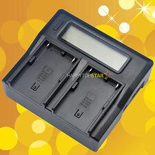 Fast Quick Dual Battery Charger for Sony Bp-U30 U60 U90 Bc-U2 Pmw-200 Ex260 Ex3