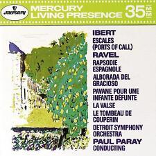 Ibert Ravel Detroit Symphony Paul Paray / CD new & sealed  MERCURY 432003-2 1990