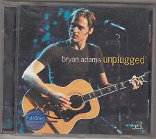 BRYAN ADAMS - unplugged CD