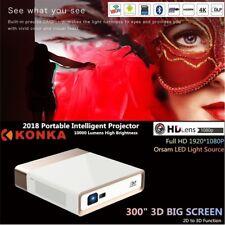 2018 KONKA 4K Ultra HD 10000Lumen Wifi 3D 1080p Home Theater DLP Laser Projector