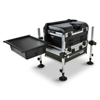 Match Station AS5 Drawer BLACK EDITION Alloy Pro-Sport Seat Box & Sliding Tray