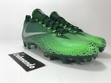 Nike Vapor Untouchable Pro Lacrosse Football Cleats Size 10 Green 833385-303