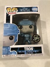 Funko Pop Disney Tron Limited Edition Glow Chase Rare Vaulted