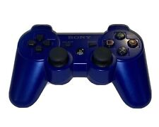 Genuine Sony PlayStation PS3 Sixaxis DualShock 3 Controller Blue/Black Color