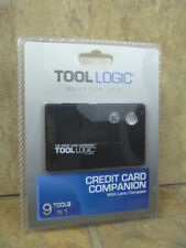 TOOL LOGIC Credit Card Companion CC1SB 9TOOLS IN 1, New in Package