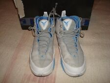 Jordan Melo M3 Basketball Shoes, Size 10.5 (2006)--Silver/Blue-White-Taxi