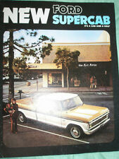 Ford USA Supercab brochure Apr 1974