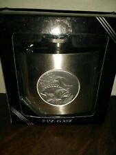 5 Oz. Stainless Steel Fisherman's Flask In Box Fish Unused Nib Novelty Gift