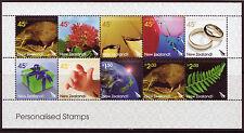 La Nouvelle Zélande 2005 Personnalisé Timbres non montés de menthe, neuf sans charnière