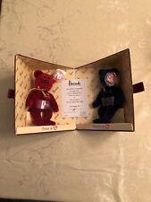 Ty  Harrods Toy Kingdom Omnia & Omnibus Bears Beanie Babies NIB w/ certificate