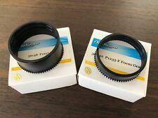 Nauticam Focus und Zoom Gear für Panasonic LUMIX 12-35mm (#36042 and #36148)